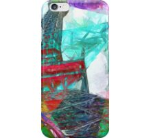 Eiffel Tower Abstract iPhone Case/Skin