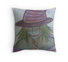 magical ghost Throw Pillow