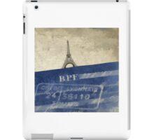 Trip to Paris - square crop iPad Case/Skin