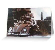 rat bug slammed and camber Greeting Card