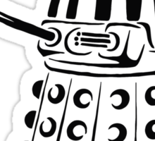Doctor Who - Dalek Sticker