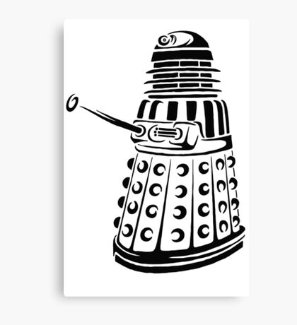 Doctor Who - Dalek Canvas Print