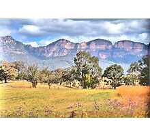 True Colours - Capertee Valley , Garden of Stone - The HDR Experience Photographic Print