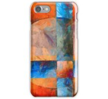 Cross and Circle Abstract iPhone Case/Skin