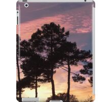 Sunset - Clouds, wind and trees iPad Case/Skin