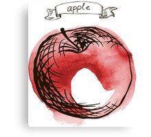 fresh useful eco-friendly apple Canvas Print