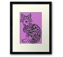 Hello My Beautiful Cat Framed Print