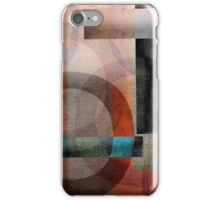 Circles and Lines Abstract iPhone Case/Skin