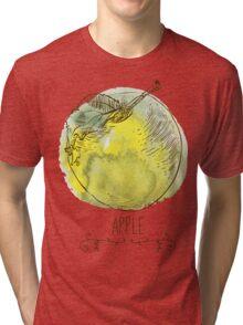 fresh useful eco-friendly apple Tri-blend T-Shirt