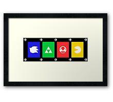 Smash Symbols Framed Print