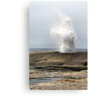 Blow Hole. Bicheno. Tasmania Canvas Print