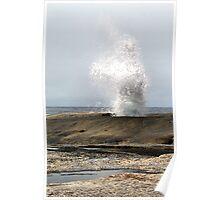 Blow Hole. Bicheno. Tasmania Poster