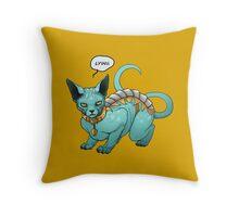 Lying Cat from Saga Graphic Novel Throw Pillow
