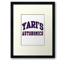 Yari's Autonomics Baseball Team Framed Print