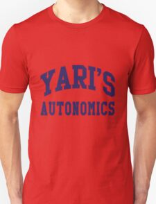 Yari's Autonomics Baseball Team Unisex T-Shirt