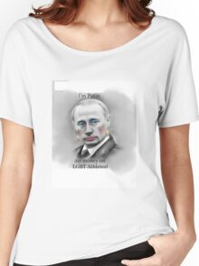 I'm Putin my money on LGBT Athletes! Women's Relaxed Fit T-Shirt