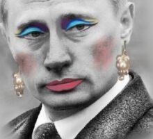 I'm Putin my money on LGBT Athletes! Sticker