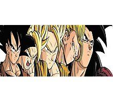 Goku Evolution Photographic Print