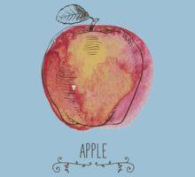 fresh useful eco-friendly apple Kids Tee