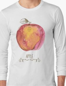 fresh useful eco-friendly apple Long Sleeve T-Shirt