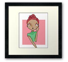 Girl power n1: pretty in pink Framed Print