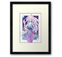 Giant Woman Framed Print