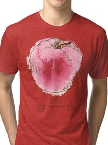 fresh useful eco-friendly apple Tri-blend T-Shirt