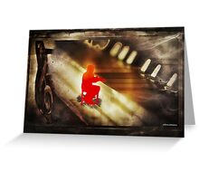 Ragtime Greeting Card