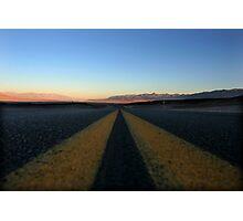 Death Valley Sunrise Photographic Print