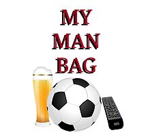 MAN BAG - Football by InterestingImag