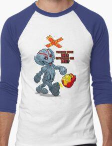 ULTRONOCCHIO Men's Baseball ¾ T-Shirt