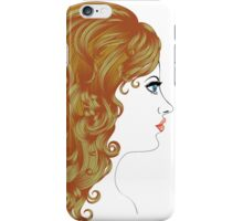 Curly Hairstyle iPhone Case/Skin