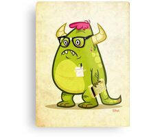 Monster Nerd Metal Print