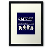 Doctor Who - Adipose Industries Cute Adiposes Framed Print