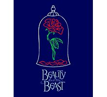 Beauty and the Beast - The Rose Photographic Print