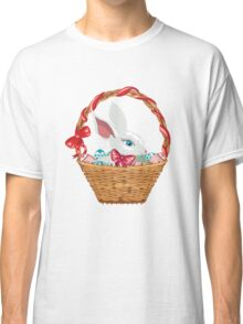 Easter Bunny in Basket Classic T-Shirt