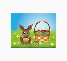 Easter Bunny with Eggs in the Basket Unisex T-Shirt