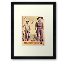 The Magnificent Two Framed Print