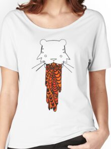 Tiger Got Sick of Stripes Women's Relaxed Fit T-Shirt
