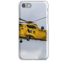 RAF SAR Sea King Helicopter iPhone Case/Skin