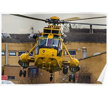 RAF SAR Sea King Helicopter Poster