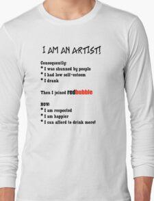 Artist's Statement (black lettering) T-Shirt