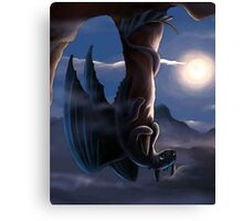 How To Train Your Dragon - Funny Toothless Canvas Print