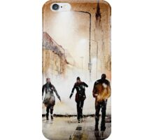Britain's cold night in warm colors. iPhone Case/Skin