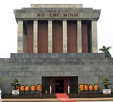 Mausoleum of Ho Chi Minh, Hanoi, Vietnam by Bev Pascoe