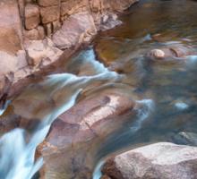 Rocky Mountain Canyon Streaming Sticker