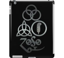 TRIQUETRA - brushed metal L iPad Case/Skin