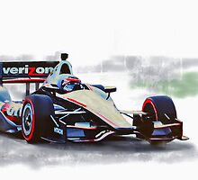 Will Power Indy by Lightrace