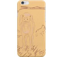 Rural Landscape with a Sheep iPhone Case/Skin