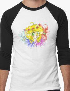 Flower Fun Men's Baseball ¾ T-Shirt